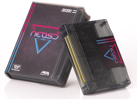NeoSD Pro AES in stock and MVS goes into production
