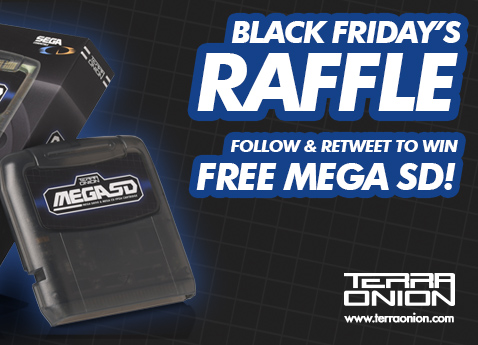 Our First Black Friday Sale And a MegaSD Raffle/Giveaway!